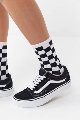 Vans Checkerboard Ticker Crew Sock