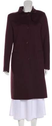 Fendi Cashmere Point Collar Coat