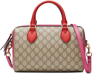GG Supreme top handle bag $1,390 thestylecure.com