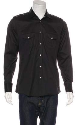 Gucci Military Button-Up Shirt