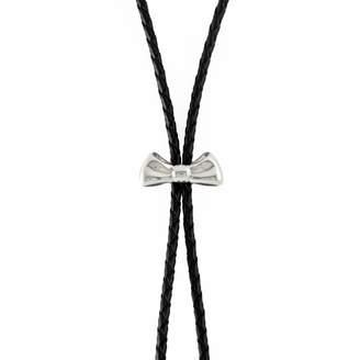 "MARIE JUNE""¢ Jewelry - Bow Silver Bolo Tie"