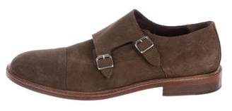 To Boot Suede Double Monk Strap Shoes