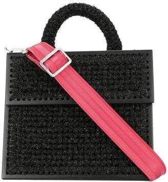 0711 Copacabana large woven handbag