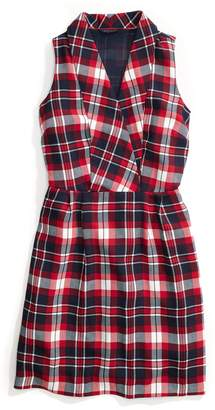 Tommy Hilfiger Sleeveless Plaid Dress