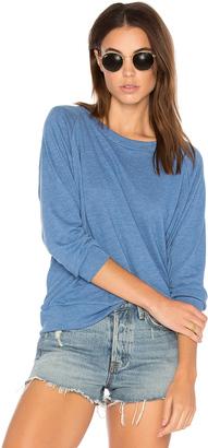 Nation LTD Raglan Sweatshirt $66 thestylecure.com