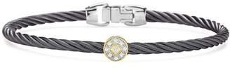 Alor Single Station Cable Bangle Bracelet