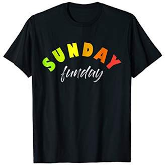 Sunday Funday Shirts - Funday Sunday tshirt - Sunday Shirt