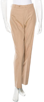 Ermenegildo Zegna Straight-leg Mid-Rise Pants $75 thestylecure.com