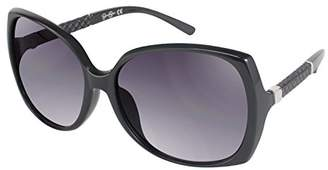 Jessica Simpson Women's J5236 Ox Non-Polarized Iridium Round Sunglasses