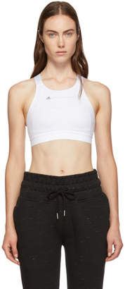 adidas by Stella McCartney White Compression Bra