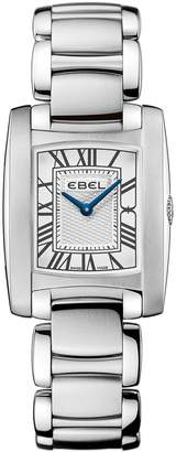 Ebel Brasilia roman numeral stainless steel bracelet ladies watch