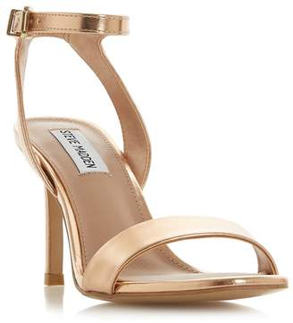 45a7fa92a29 at Debenhams · Steve Madden Rose  Faith Steve Madden  Stiletto Heel Ankle  Strap Sandals