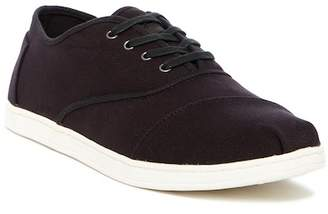 Toms Donova Black Canvas Sneaker