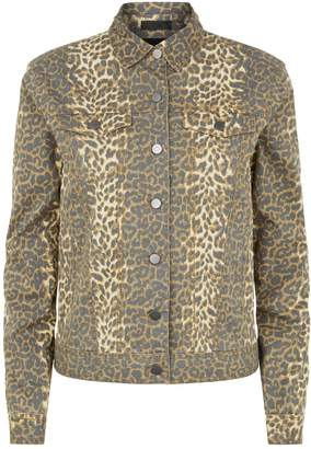 ATM Anthony Thomas Melillo Leopard Print Jacket