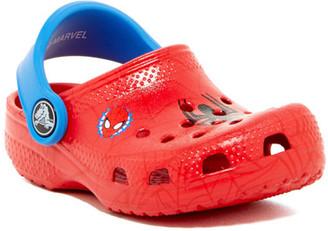 Crocs Classic Spiderman Clog (Toddler & Little Kid) $34.95 thestylecure.com