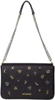 Moschino Shoulder Bag With Flap