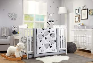 NoJo Good Night Sheep 4 Piece Standard Size Crib Comforter Set