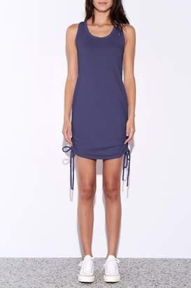 Sundry Side Shirred Dress