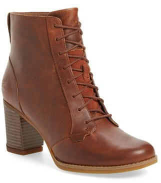 Women's Timberland 'Atlantic Heights' Lace-Up Bootie $159.95 thestylecure.com