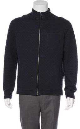 Billy Reid Quilted Zip Jacket