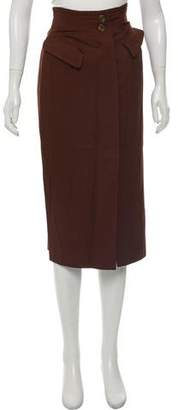 Alberta Ferretti Casual Midi Skirt