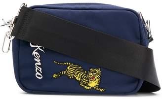 Kenzo logo messenger bag