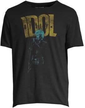 John Varvatos Billy Idol Cotton T-Shirt