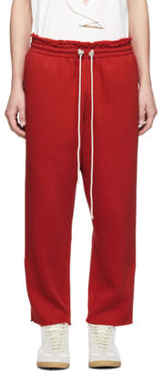 Camiel Fortgens Red Jersey Lounge Pants