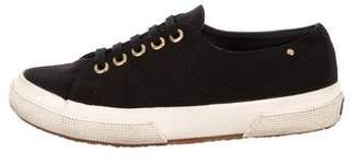 The Row Low-Top Round-Toe Sneakers