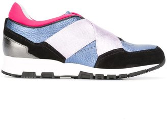 Lanvin elasticated band sneakers $745 thestylecure.com