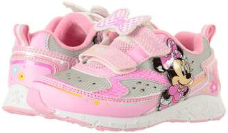Josmo Kids Minnie Double HL Lighted Sneaker Girl's Shoes