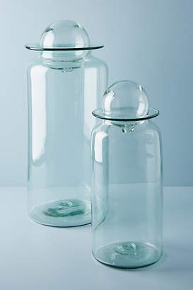 Anthropologie Piper Glass Canister