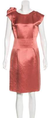 Lanvin Satin Knee-Length Dress