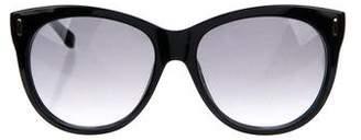 Jimmy Choo Ally Gradient Sunglasses