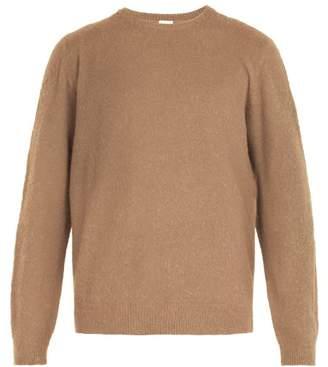 Massimo Alba Camel Wool Sweater - Mens - Camel