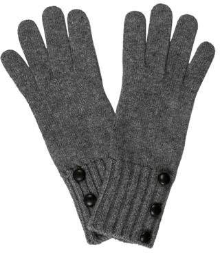 Portolano Knit Button-Accents Gloves w/ Tags