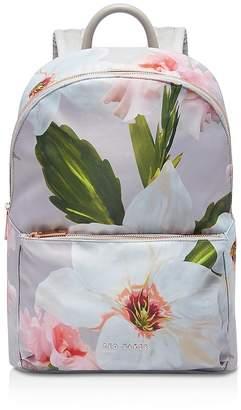 Ted Baker Osmoni Chatsworth Bloom-Print Nylon Backpack