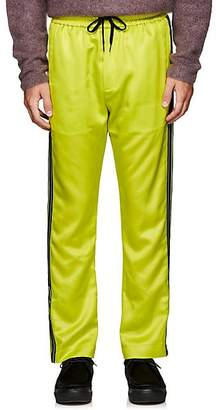 Cmmn Swdn Men's Honza Striped Satin Track Pants - Yellow