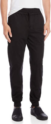 Franklin & Marshall Black Chino Joggers