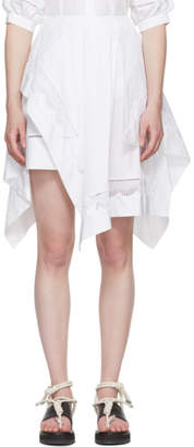 3.1 Phillip Lim White Handkerchief Skirt
