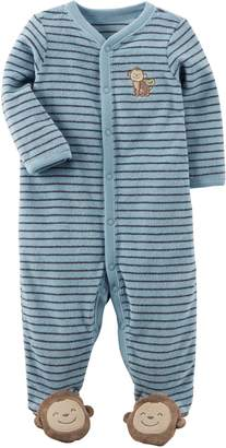 Carter's Baby Boys' Terry Footed Coverall