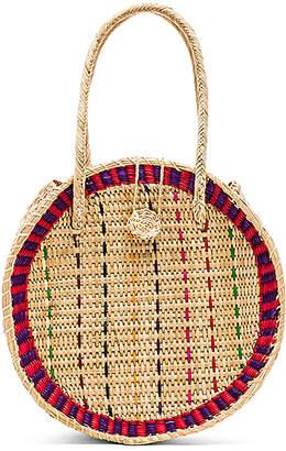 Pitusa Straw Disco Bag
