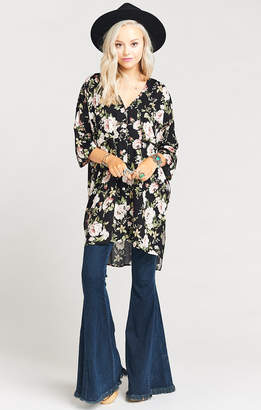 Show Me Your Mumu The Artiste Tunic ~ Courtney Loves Roses Cloud