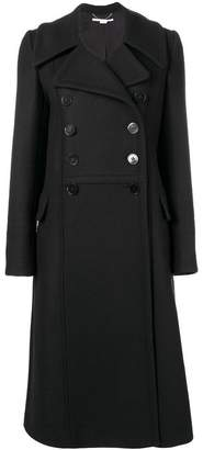 Stella McCartney double-breasted flared coat