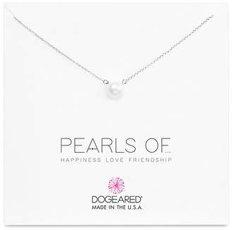 """Dogeared Large Freshwater Pearl Necklace, 16"""""""