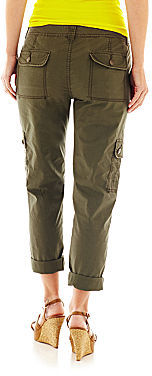 JCPenney a.n.a Roll-Cuff Cargo Pants