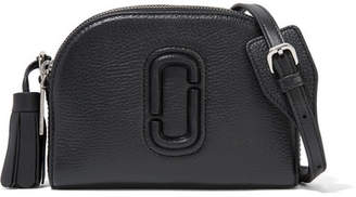 Marc Jacobs Shutter Textured-leather Shoulder Bag - Black