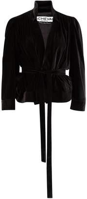 A Cheval Pampa Lucero velvet jacket