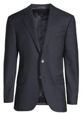 Corneliani Classic-Fit Basic Wool Blazer