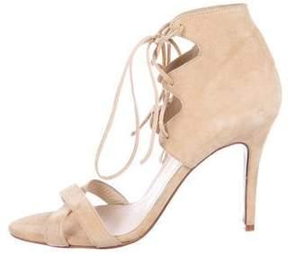 Plomo Suede Ally Sandals